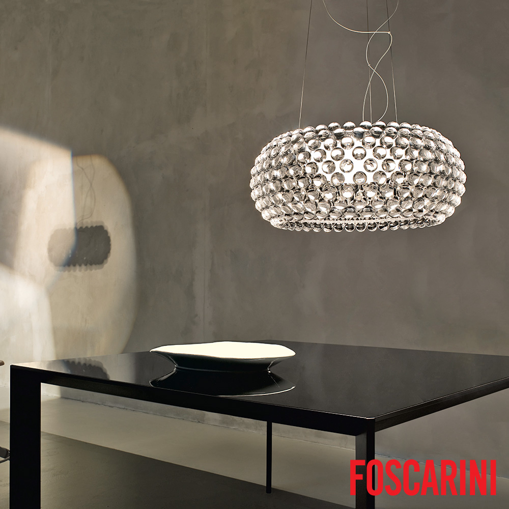 caboche grande led suspension foscarini metropolitandecor. Black Bedroom Furniture Sets. Home Design Ideas