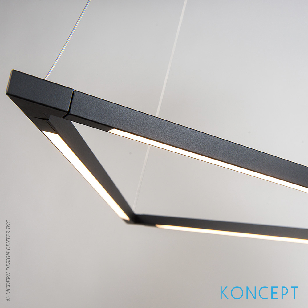 Z Bar Pendant Light Triangle Koncept At Metropolitandecor
