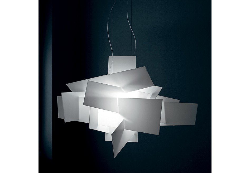 big bang l led suspension foscarini metropolitandecor. Black Bedroom Furniture Sets. Home Design Ideas
