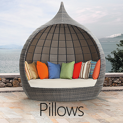 Outdoor Pillows & Cushions