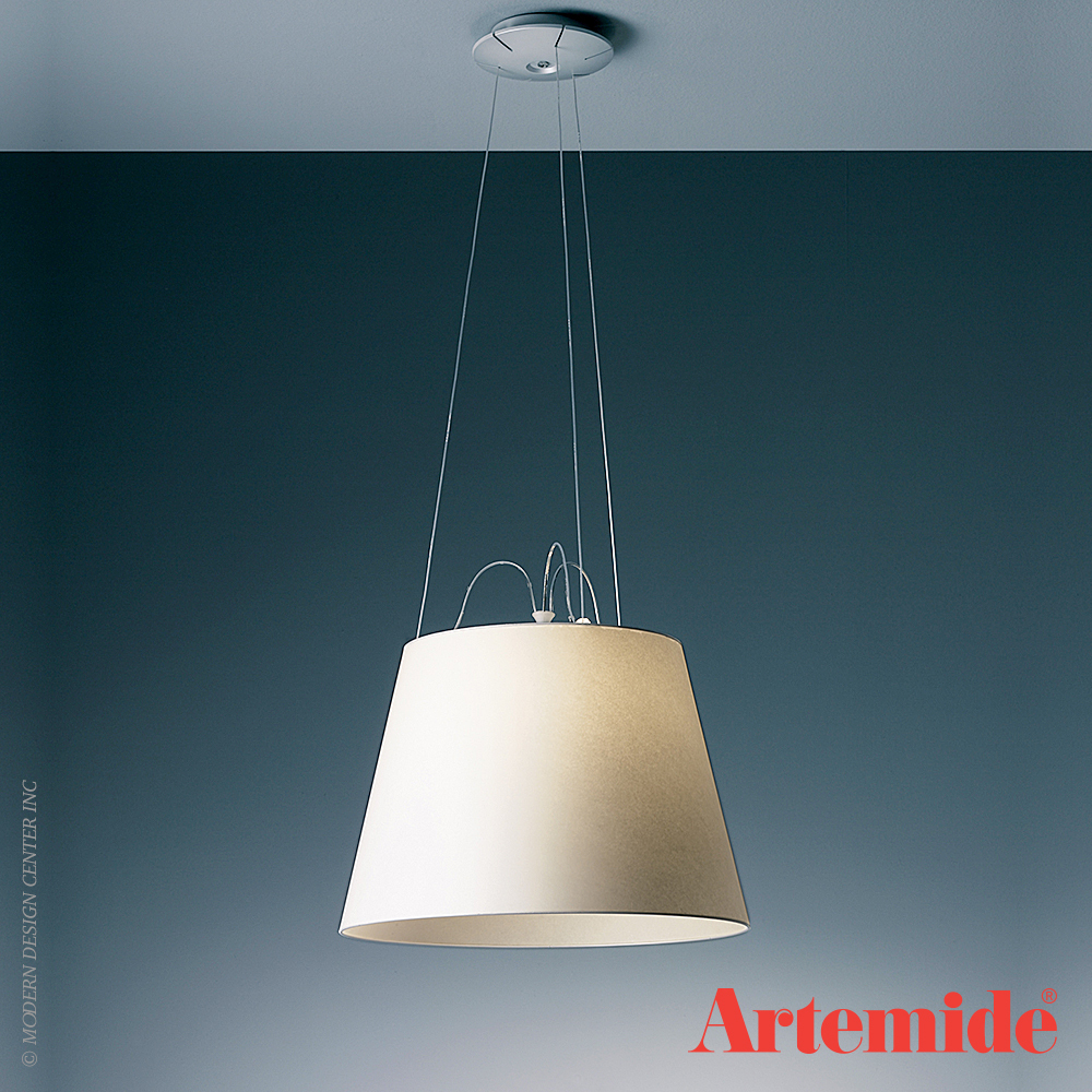 Tolomeo mega suspension gu24 artemide black friday sale 30 off metropoli - Cable suspension luminaire ...
