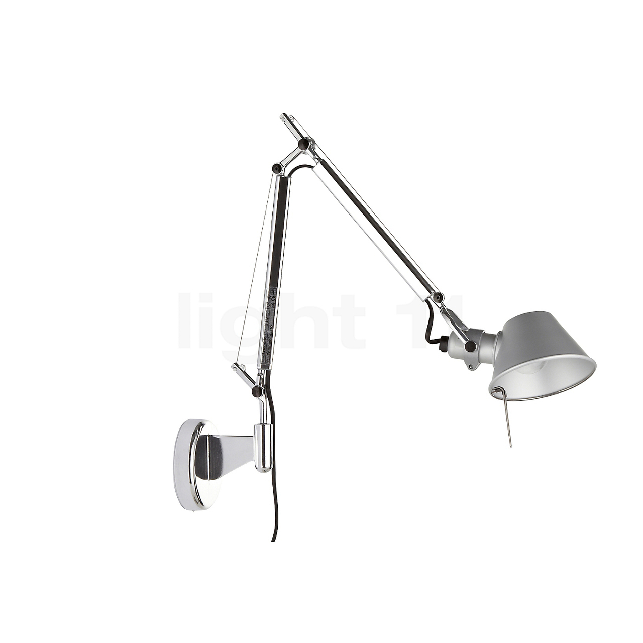 tolomeo micro wall lamp artemide metropolitandecor. Black Bedroom Furniture Sets. Home Design Ideas