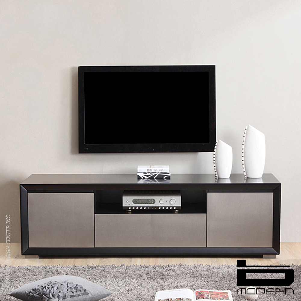 b modern esquire tv stands black metropolitandecor. Black Bedroom Furniture Sets. Home Design Ideas