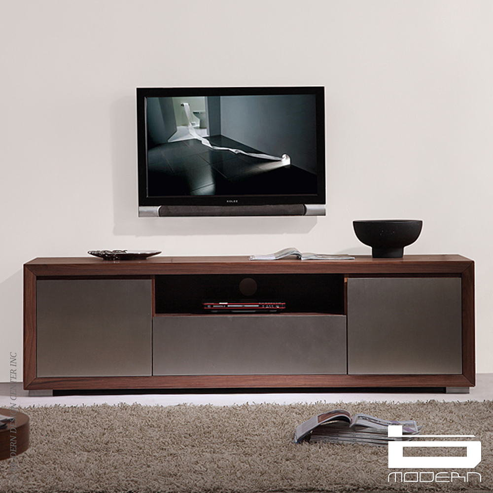 B Modern Esquire Tv Stands Light Walnut Metropolitandecor