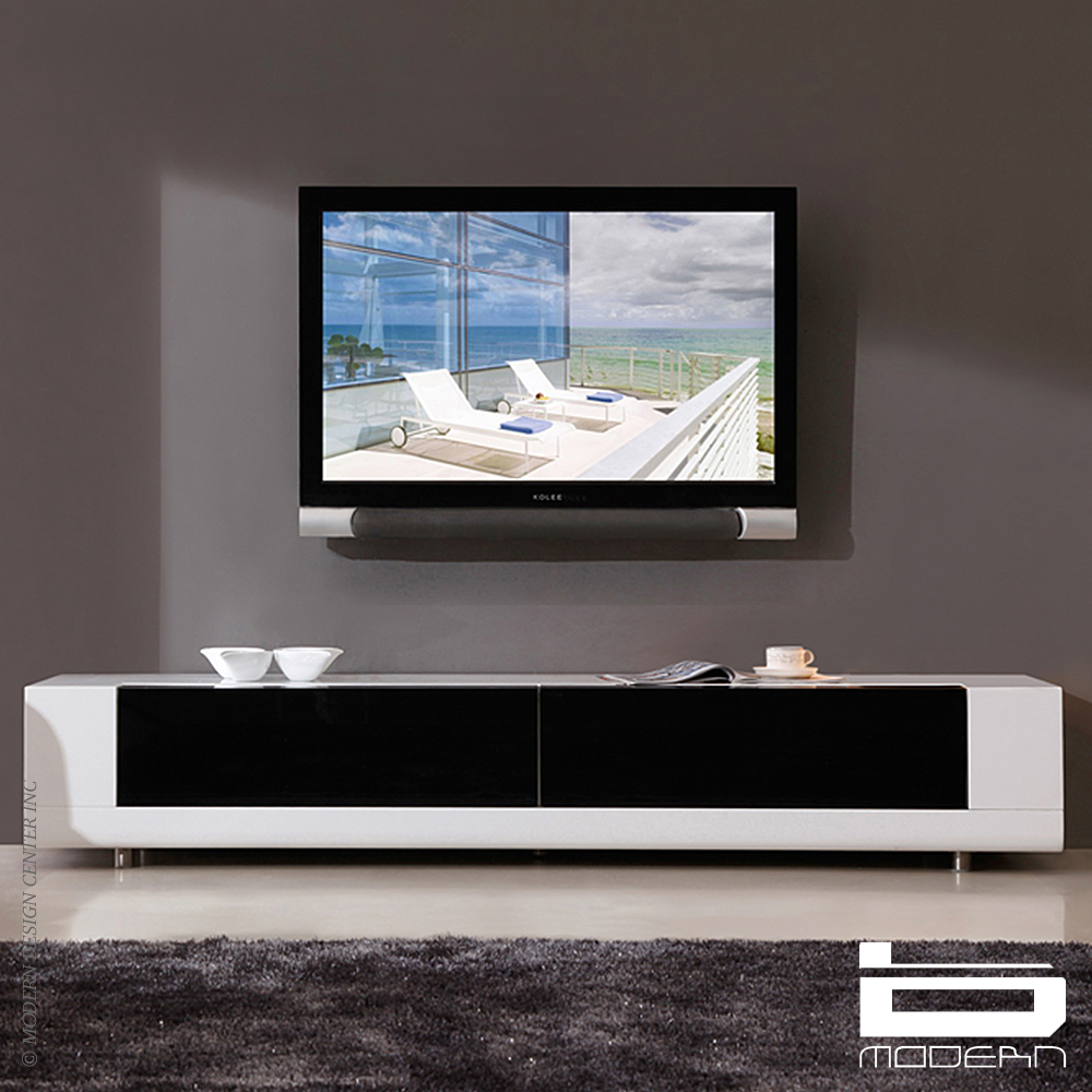 B modern Editor amp TV Stands White MetropolitanDecor