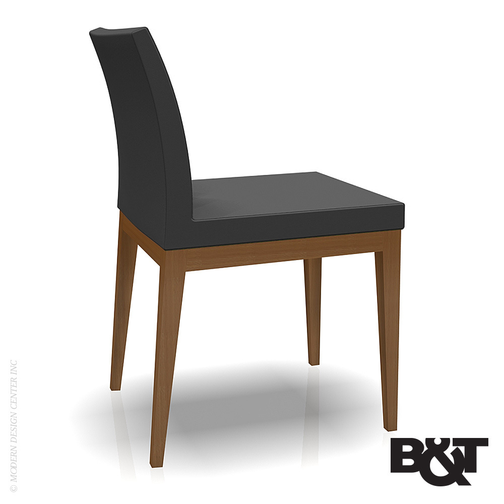 Paria dining chair wood base b t metropoitandecor for Restaurant furniture