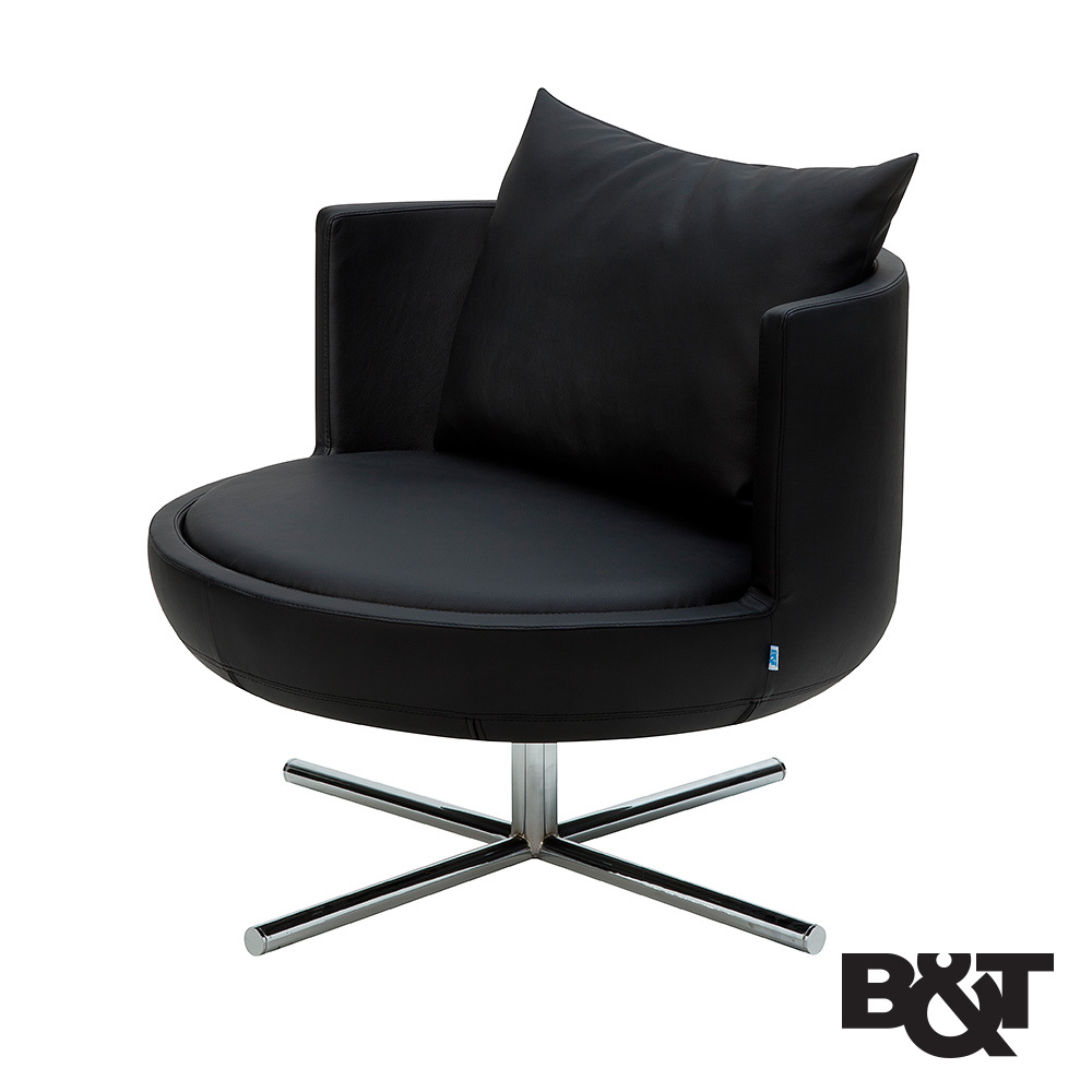 Round Lounge Chair B Amp T Metropolitandecor