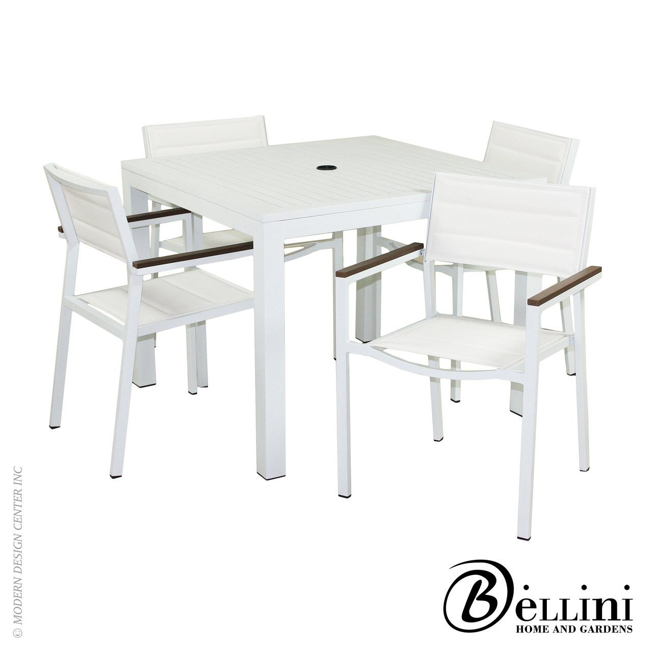Avallon 5-piece Dining Set W46405 | Bellini