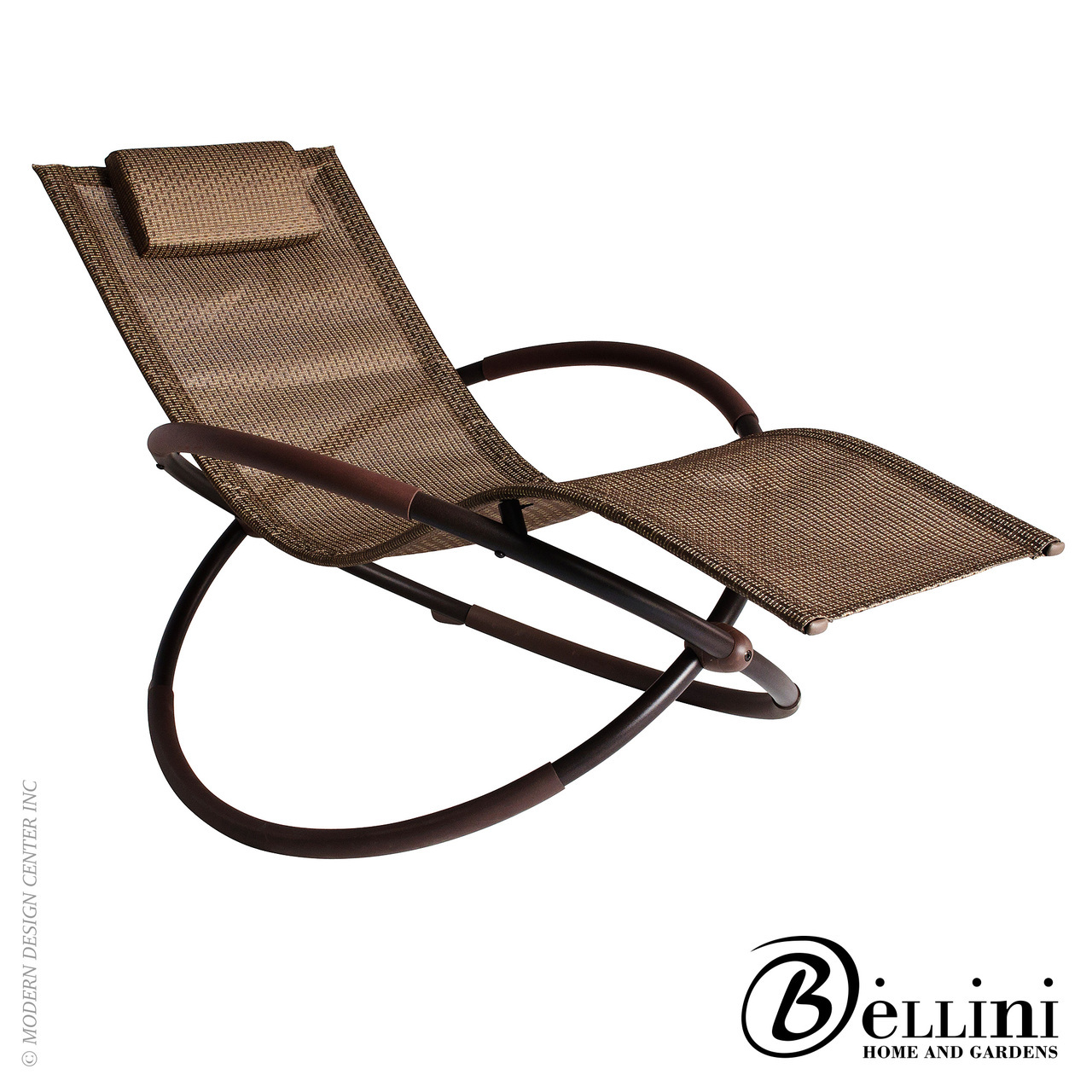 Bali wave rocking chaise lounger w77750 bellini for Balinese chaise lounge