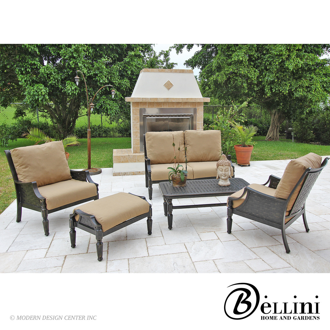 Conrad 5-piece Deep Seating C27105 | Bellini