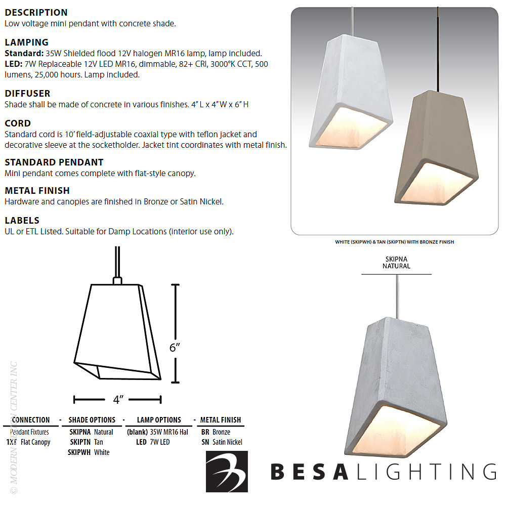 Skip Mini Pendant Light Set