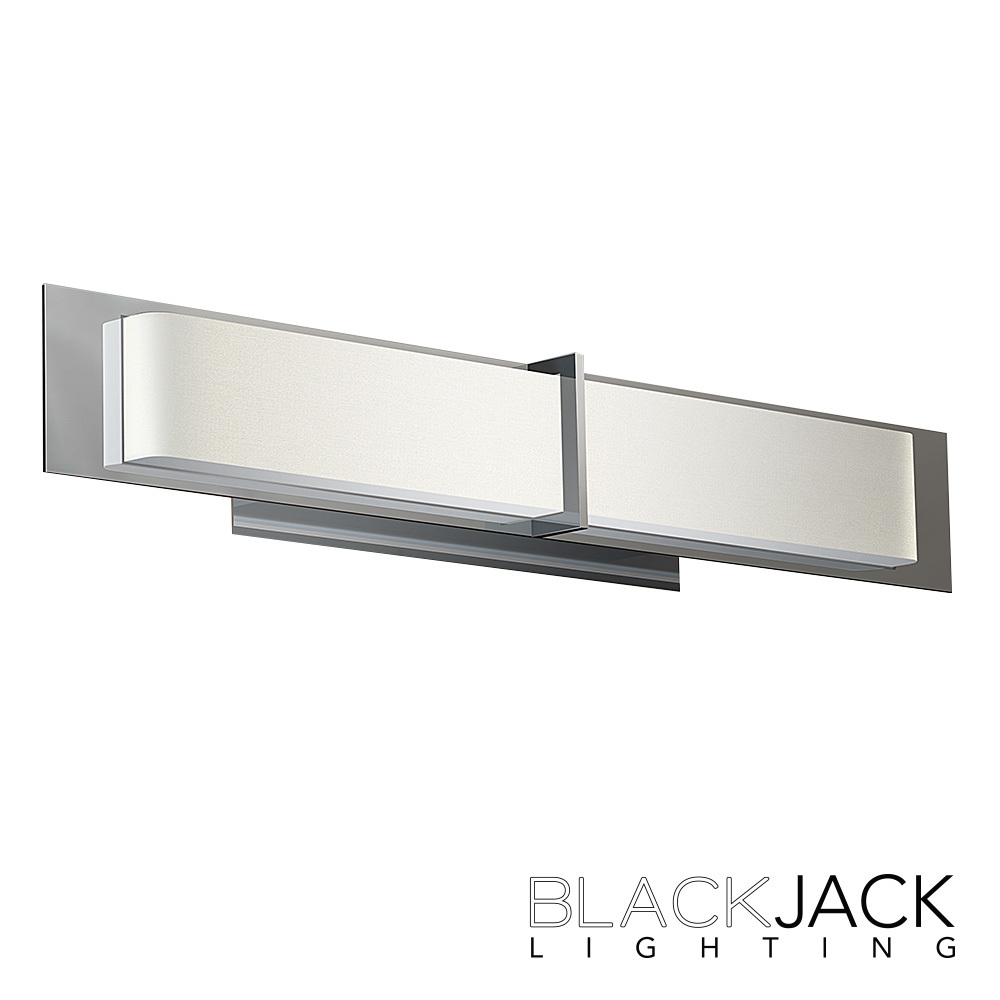 Vanity Led Light Bar : Equis LED Vanity Light Blackjack Lighting MetropolitanDecor