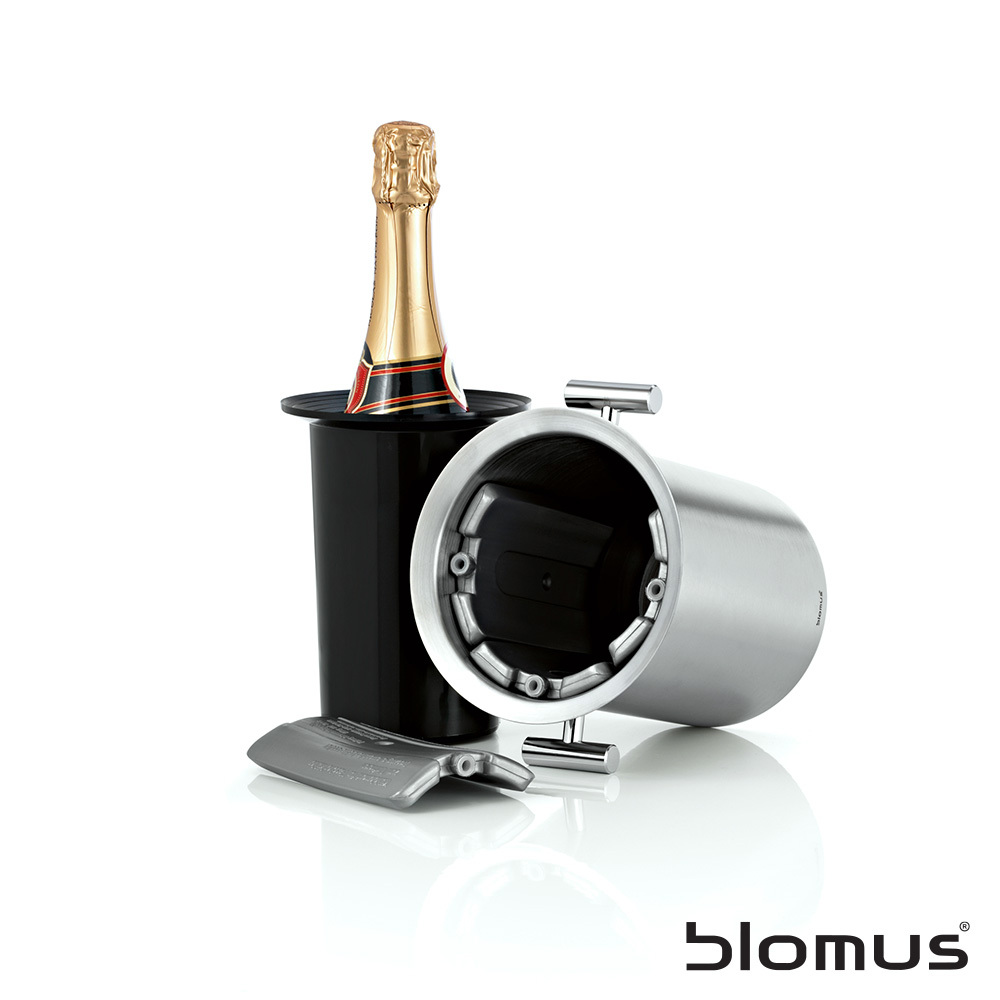 Lounge Bottle Cooler with Handle | Blomus