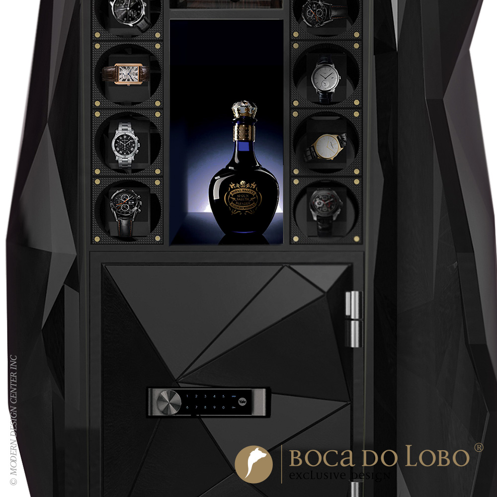 Black Diamond Luxury Safe Private Collection Boca Do