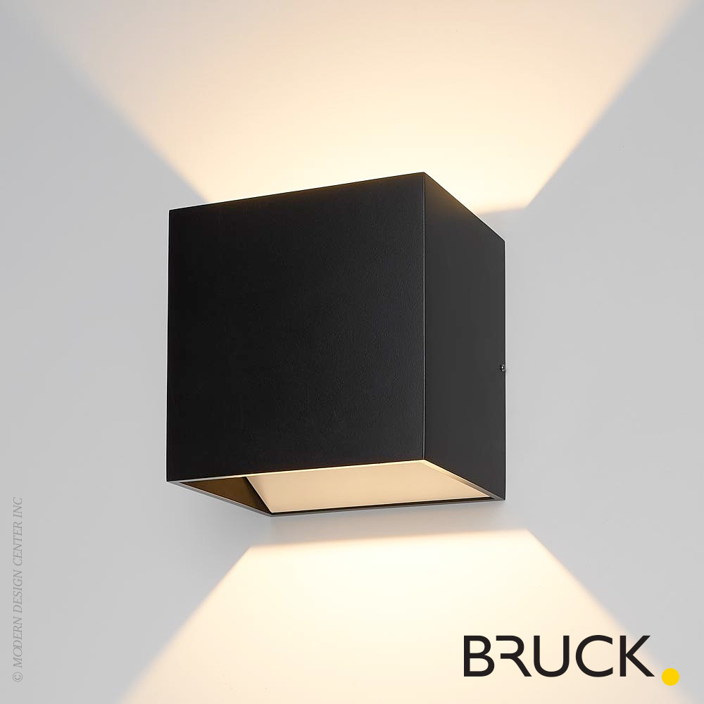 Led Wall Light Pictures : QB LED Wall Sconce Bruck Lighting MetropolitanDecor