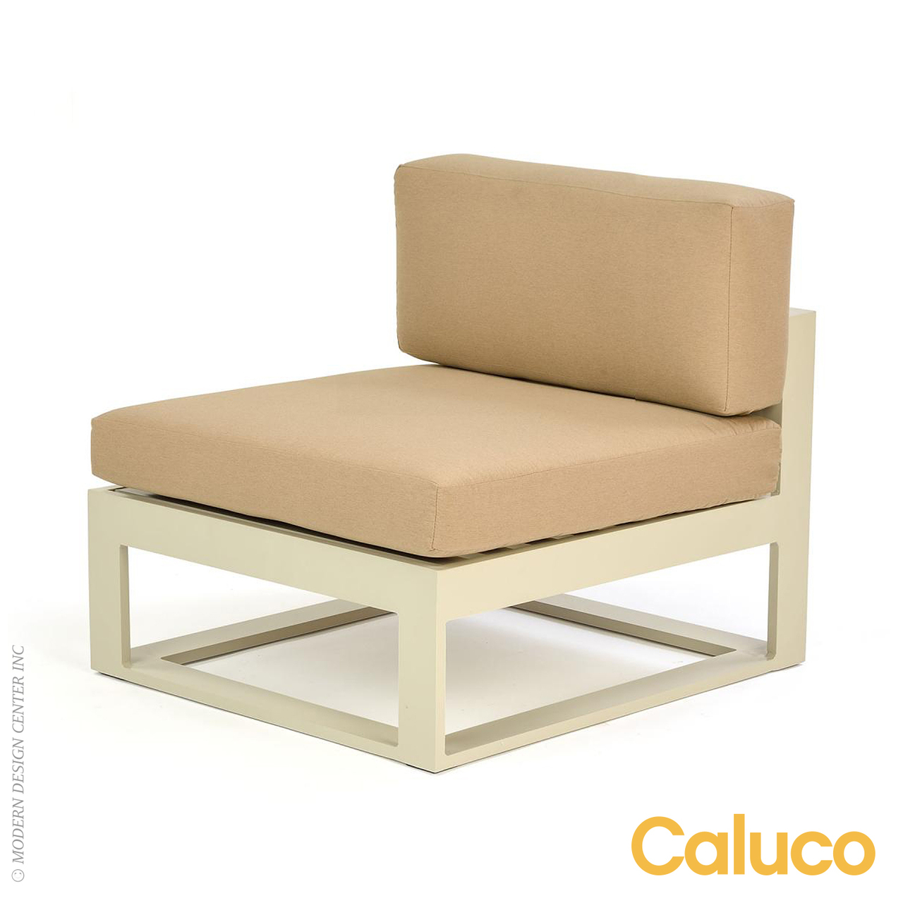 Space sectional middle caluco patio furniture metropolitandecor - Outdoor sectionals for small spaces collection ...
