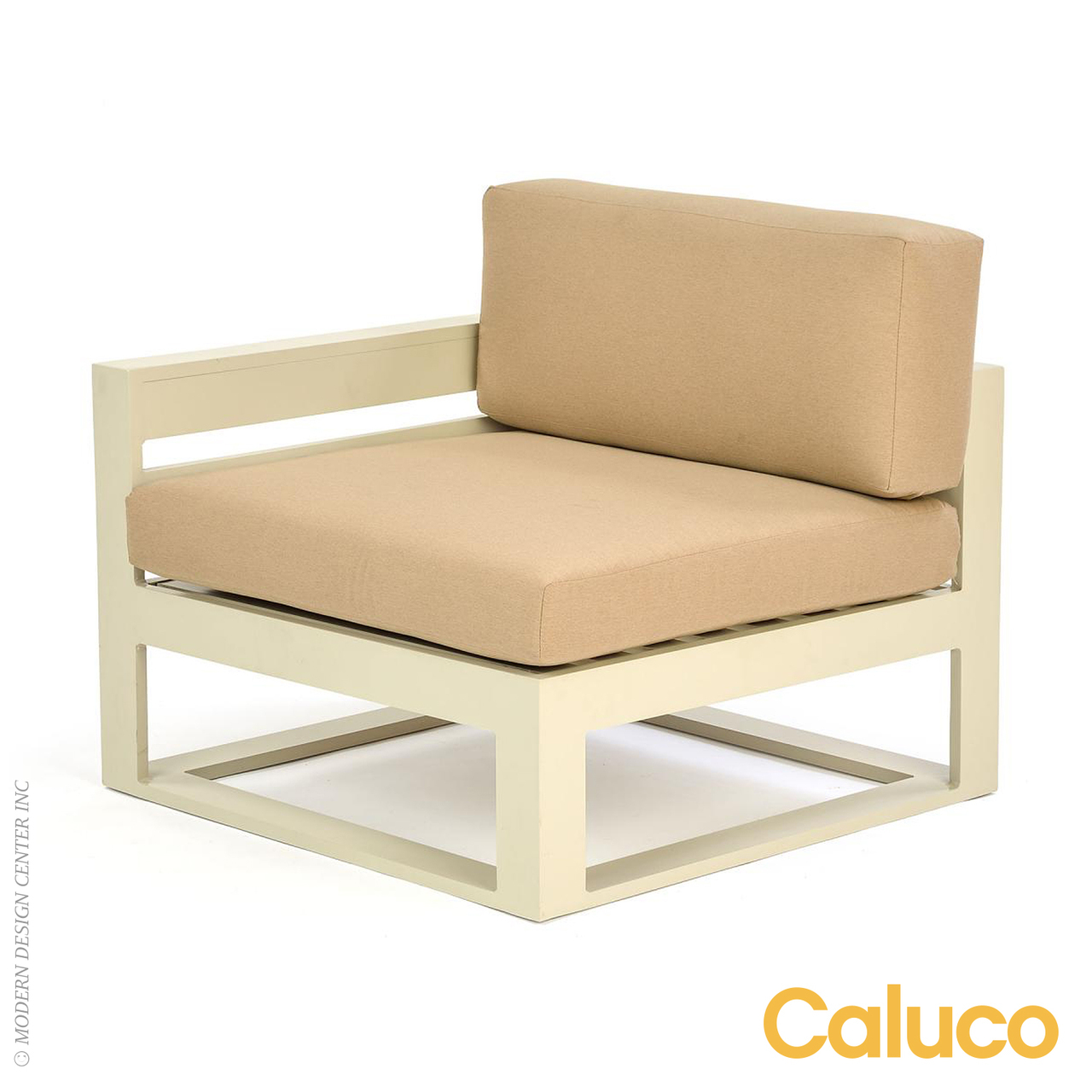 Space sectional right caluco patio furniture metropolitandecor - Outdoor sectionals for small spaces collection ...