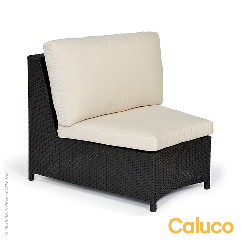 Cosmic Sectional Single Armless Chair | Caluco Patio Furniture