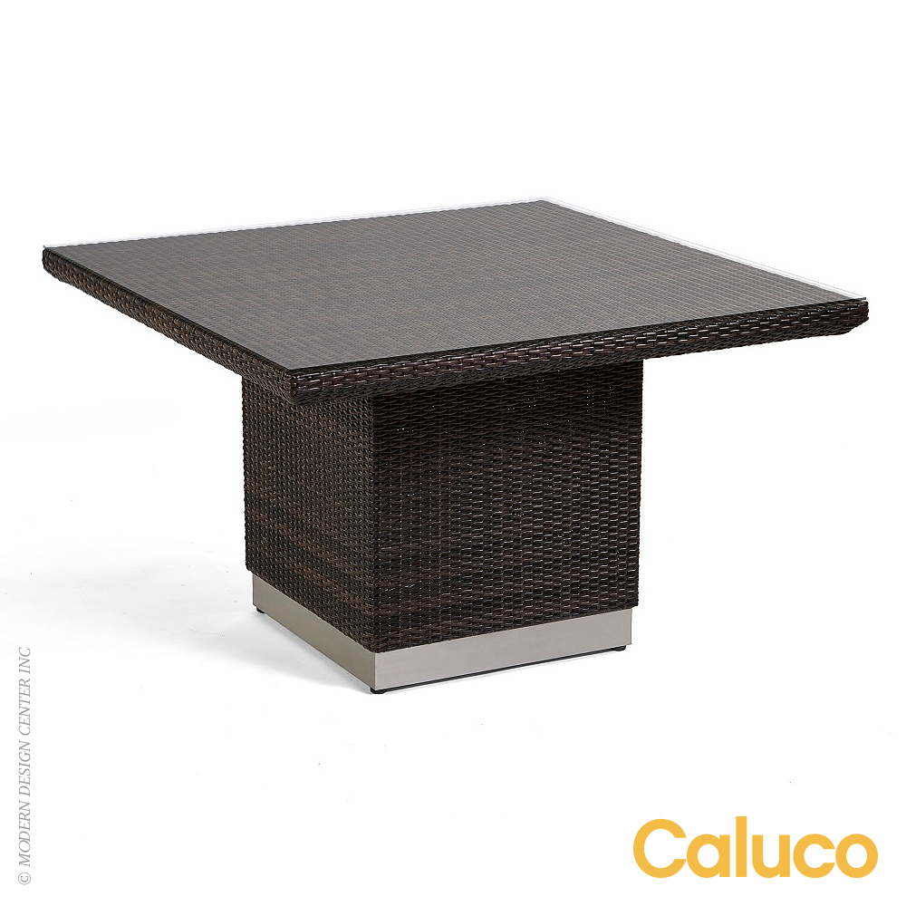 Home Outdoor Outdoor Dining Tables Mirabella Square Dining Tab