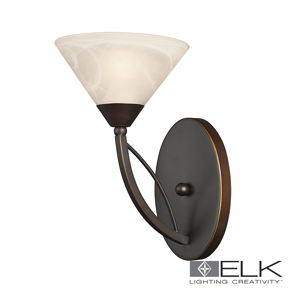 Vanity Light in Oil Rubbed Bronze