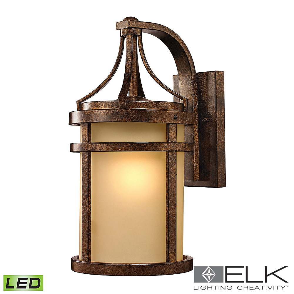 Winona Outdoor Wall Sconce in Hazelnut Bronze LED