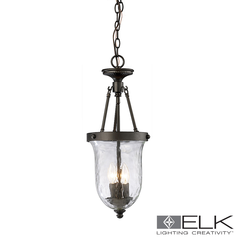 Yorkville 3-Light Lantern in Oiled Bronze