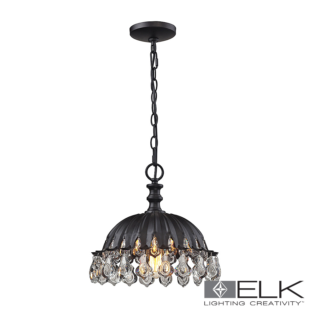Zuella Pendant Light in Matte Black