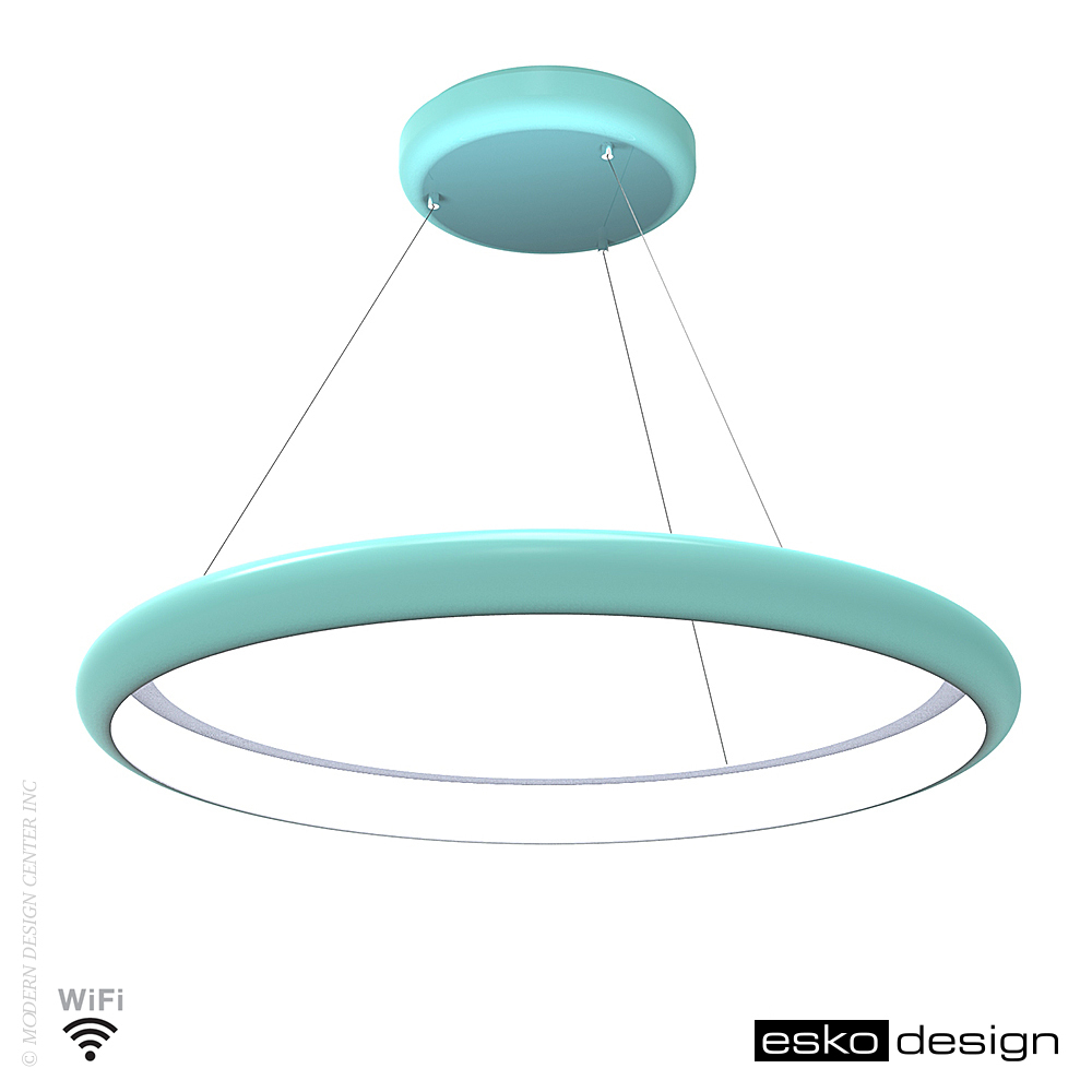 Radius halo suspension lamp esko design metropolitandecor for Suspension design