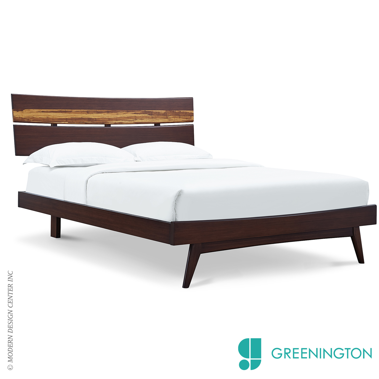 Azara Eastern King Platform Bed Greenington Metropolitandecor