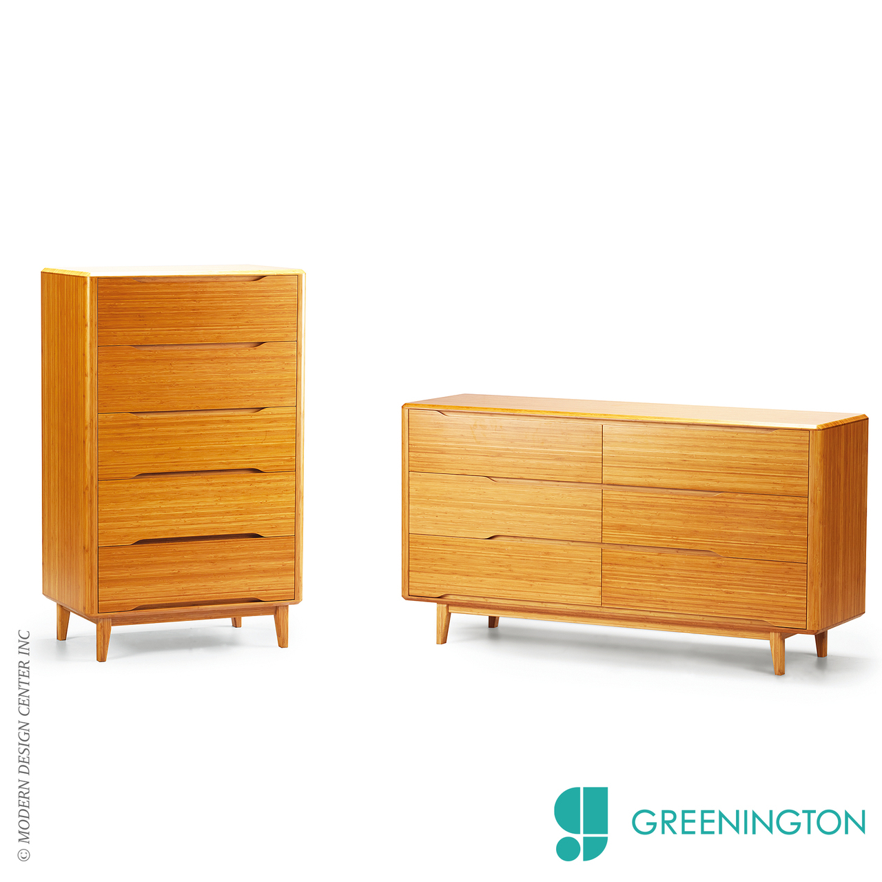 Currant Five Drawer Chest | Greenington