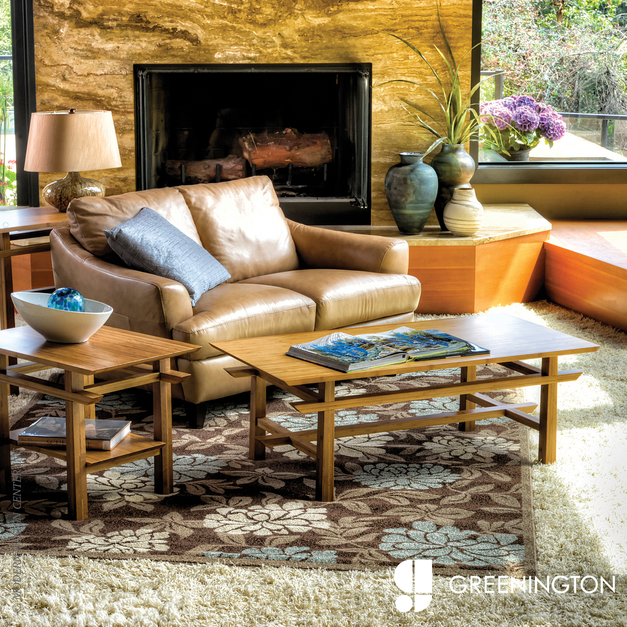 Lotus Coffee Table | Greenington