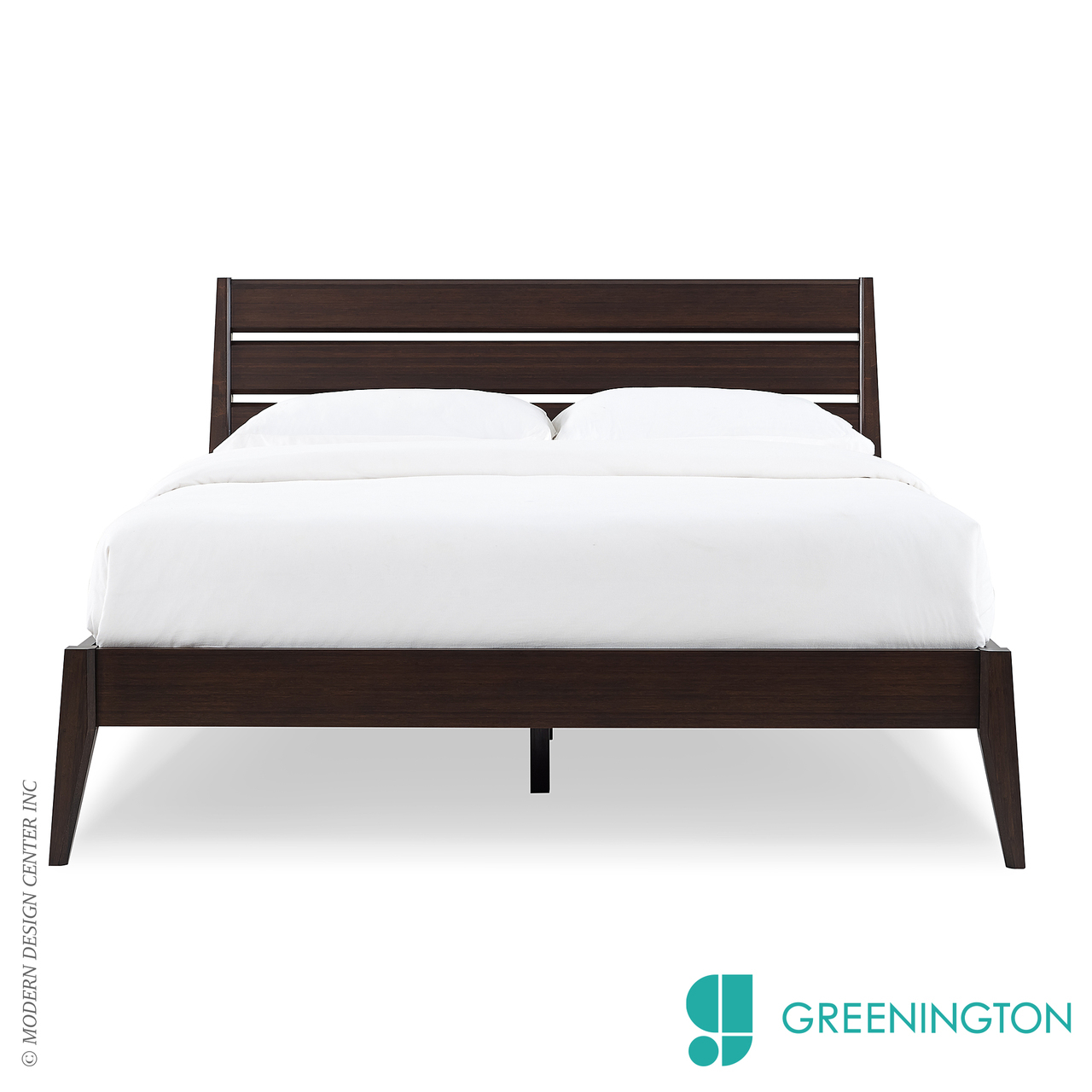 Sienna Queen Platform Bed Greenington Metropolitandecor