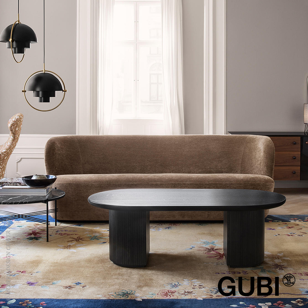 Moon Lounge Table Rectangular | Gubi