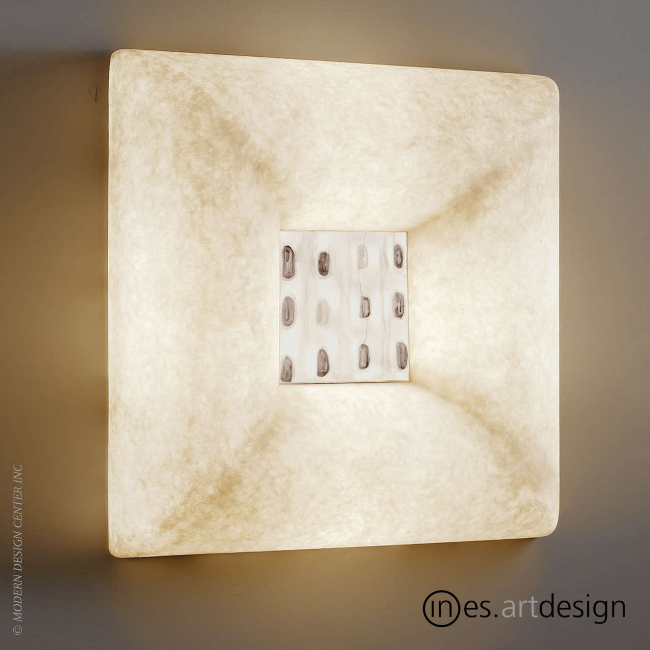 Dada Luna 3 Wall Light | In-es Art Design