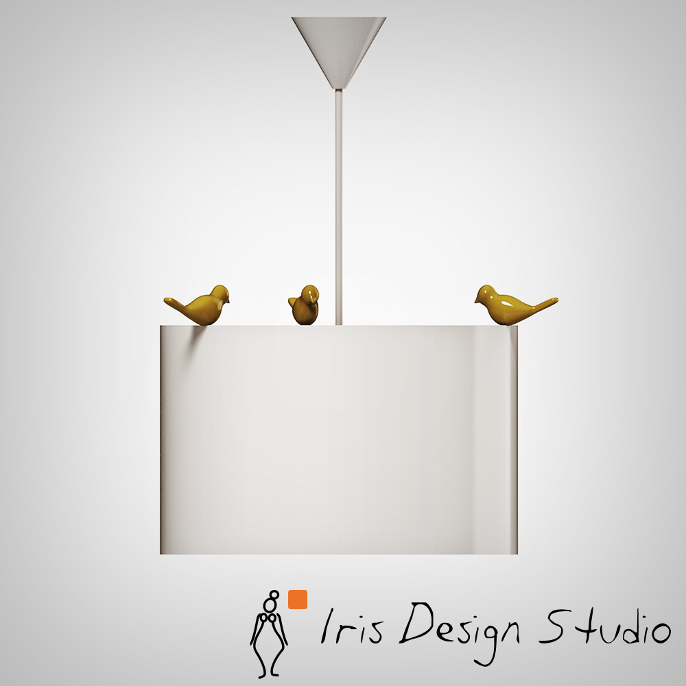 Panajachel ceiling lamp iris design studio for Product design studio