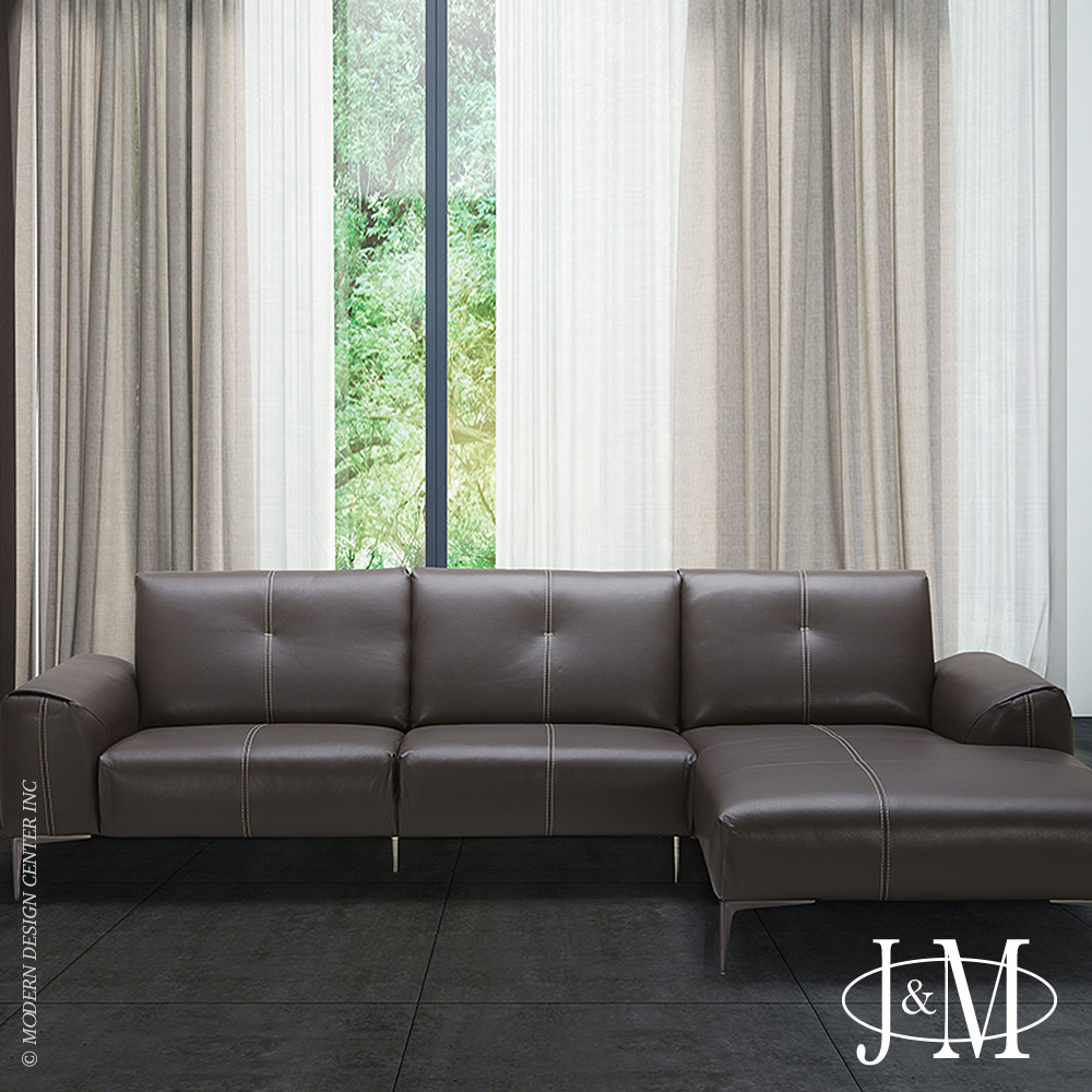 Metro Sectional RHF Chaise | J&M Furniture