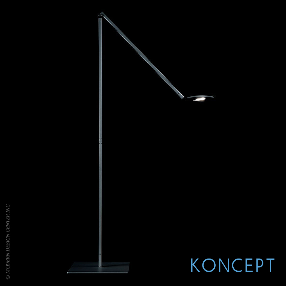 Koncept lighting gravy led wall sconce in silver and wood for Koncept design