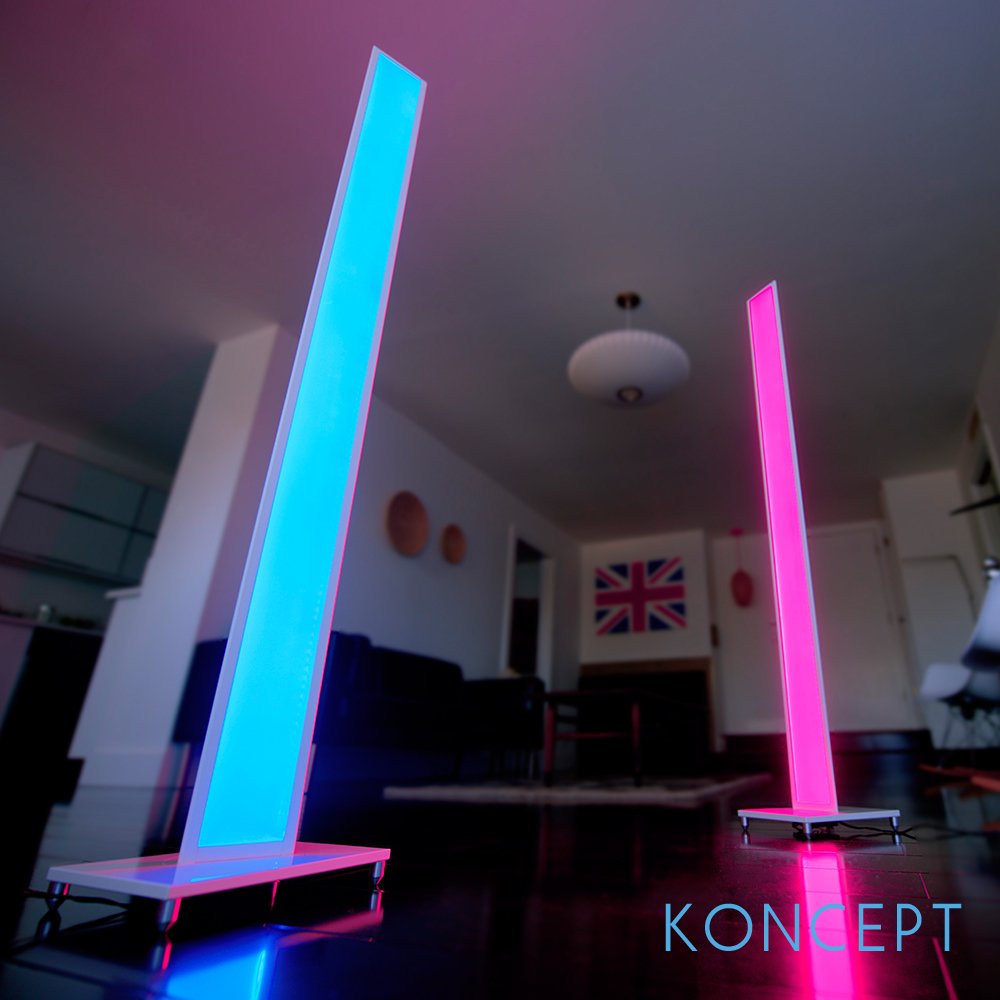 Tono LED Mood Light Floor Lamp | Koncept