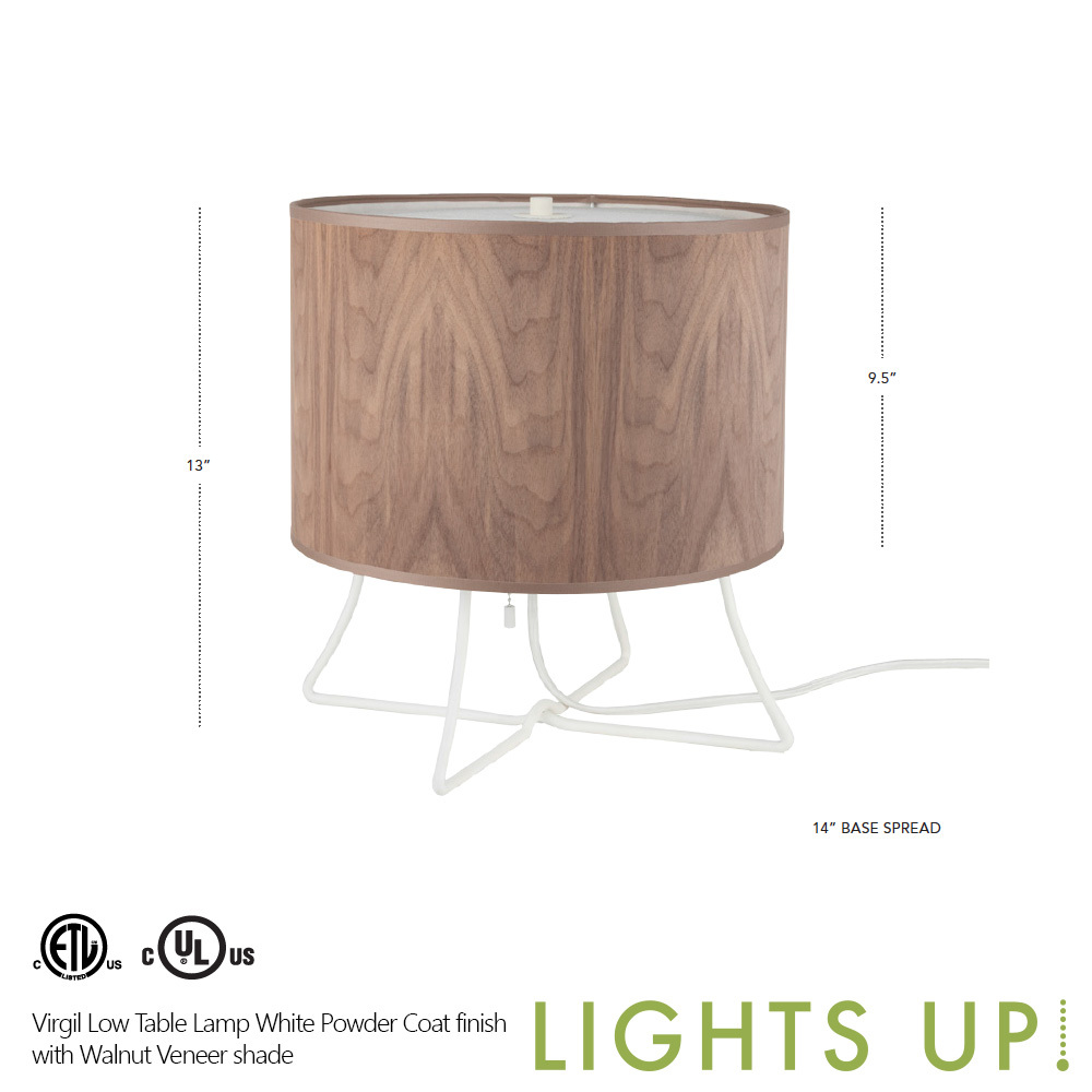 Up Virgil Low Table Lamp