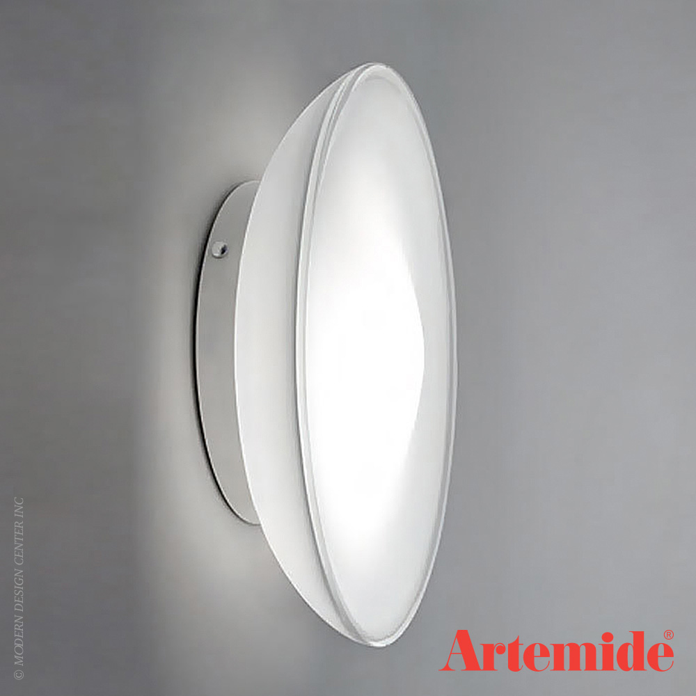 Lunex Wall Light or Ceiling Light | Artemide