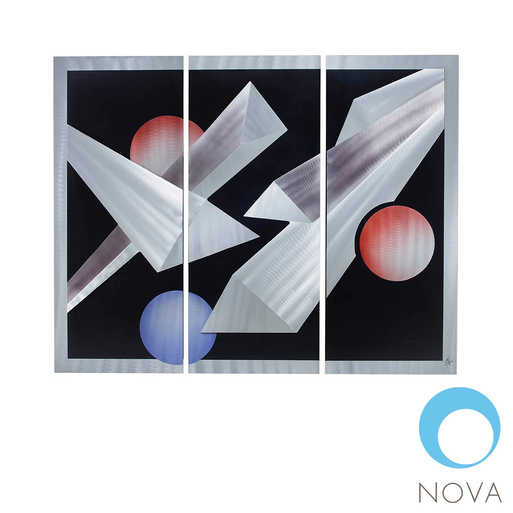 Billiards 3 piece wall art nova metropolitandecor for 3 piece wall art