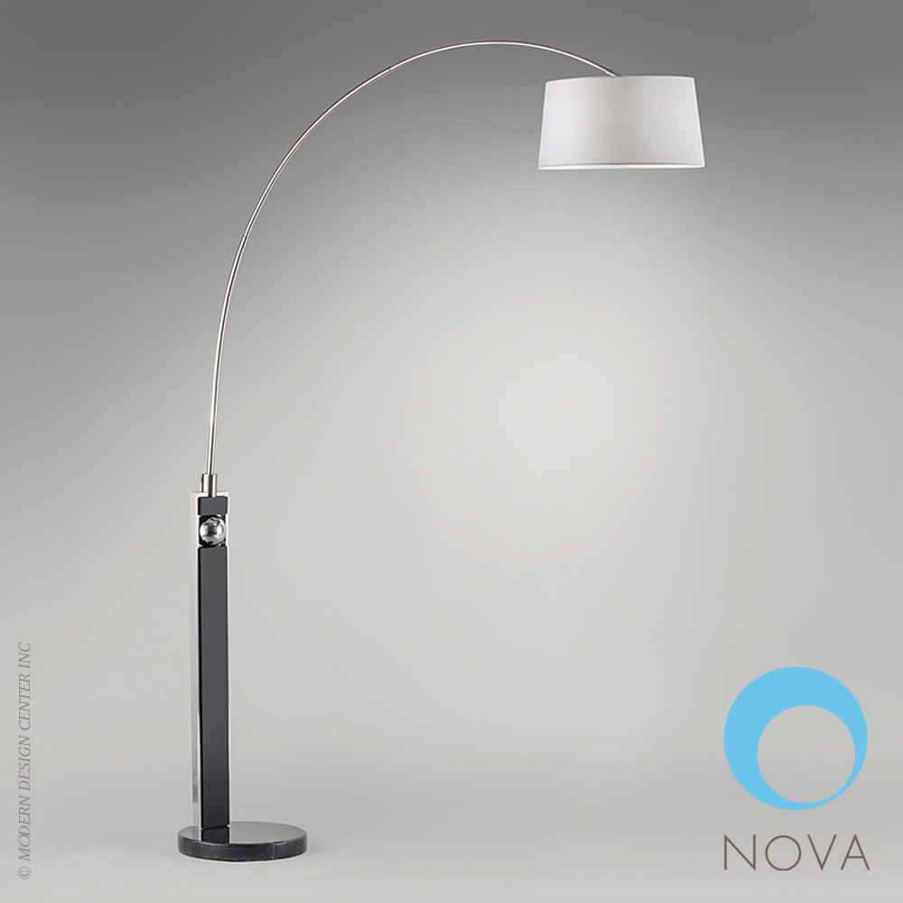 frame arc floor lamp nova