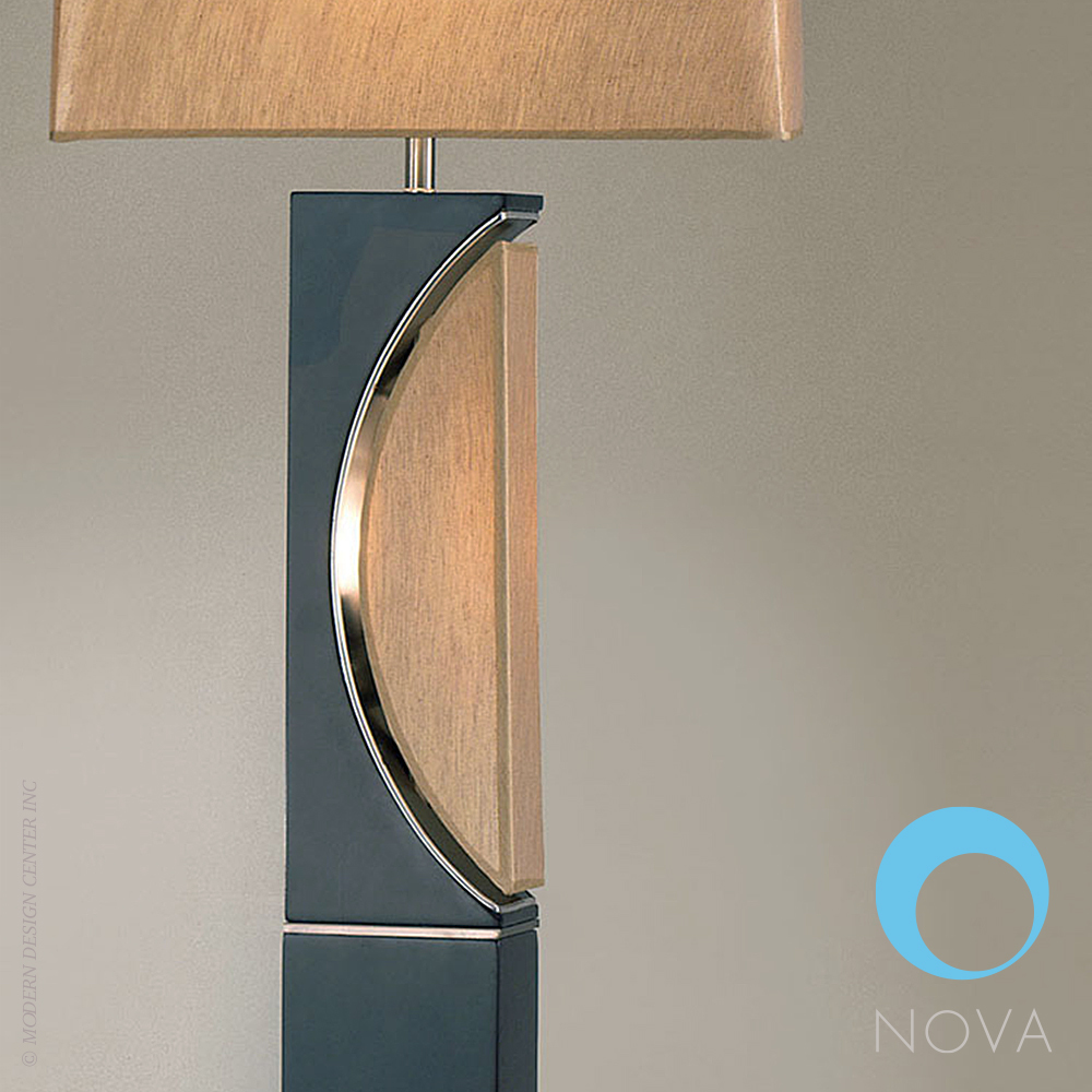 Half Moon Floor Lamp Nova Metropolitandecor
