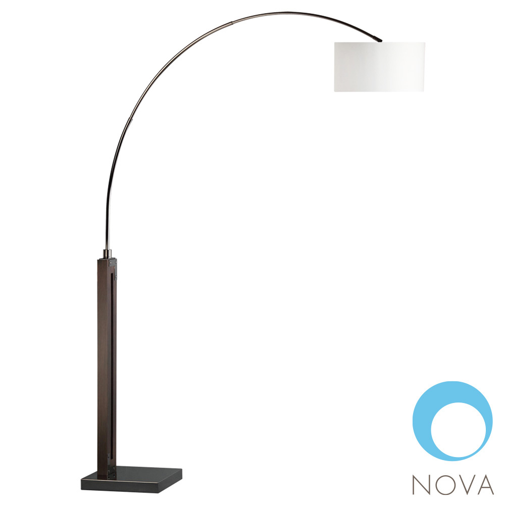 Runyon Arc Floor Lamp Nova Metropolitandecor