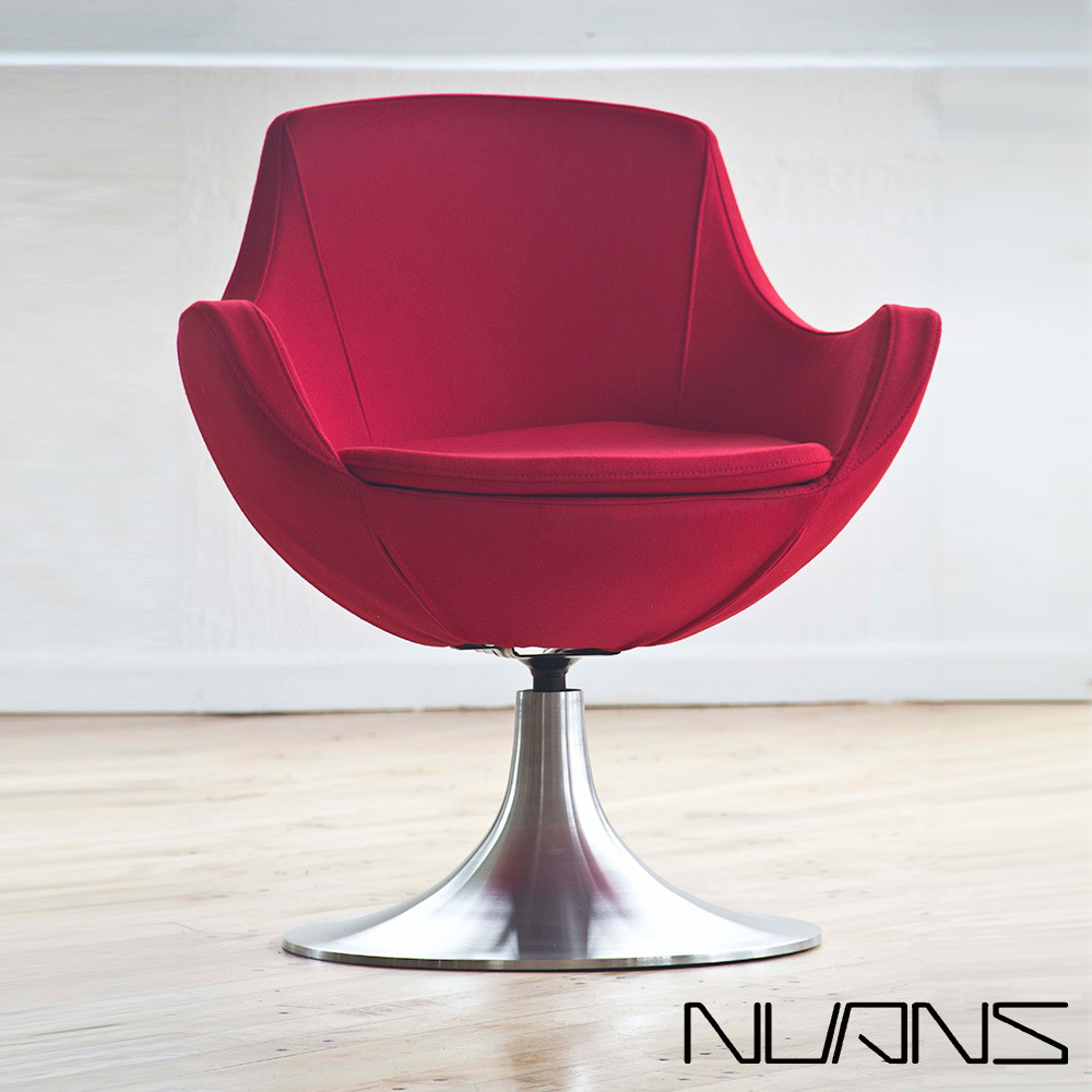 Dupont Swivel Lounge Chair Nuans
