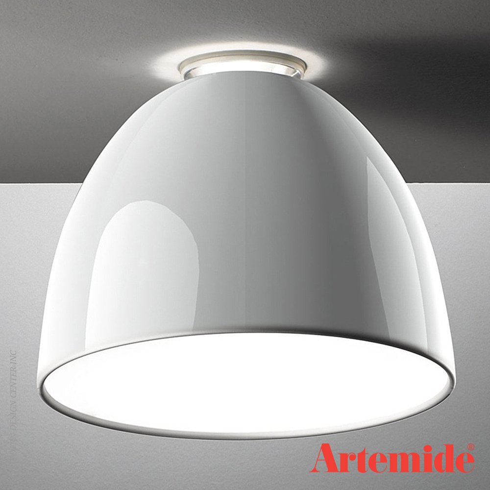 nur gloss led ceiling light artemide metropolitandecor. Black Bedroom Furniture Sets. Home Design Ideas