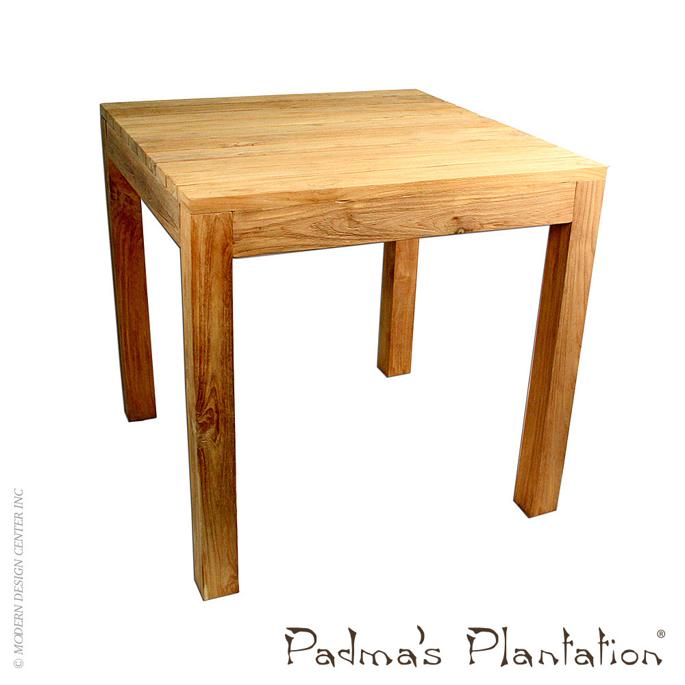 outdoor rustic teak dining table padma 39 s plantation