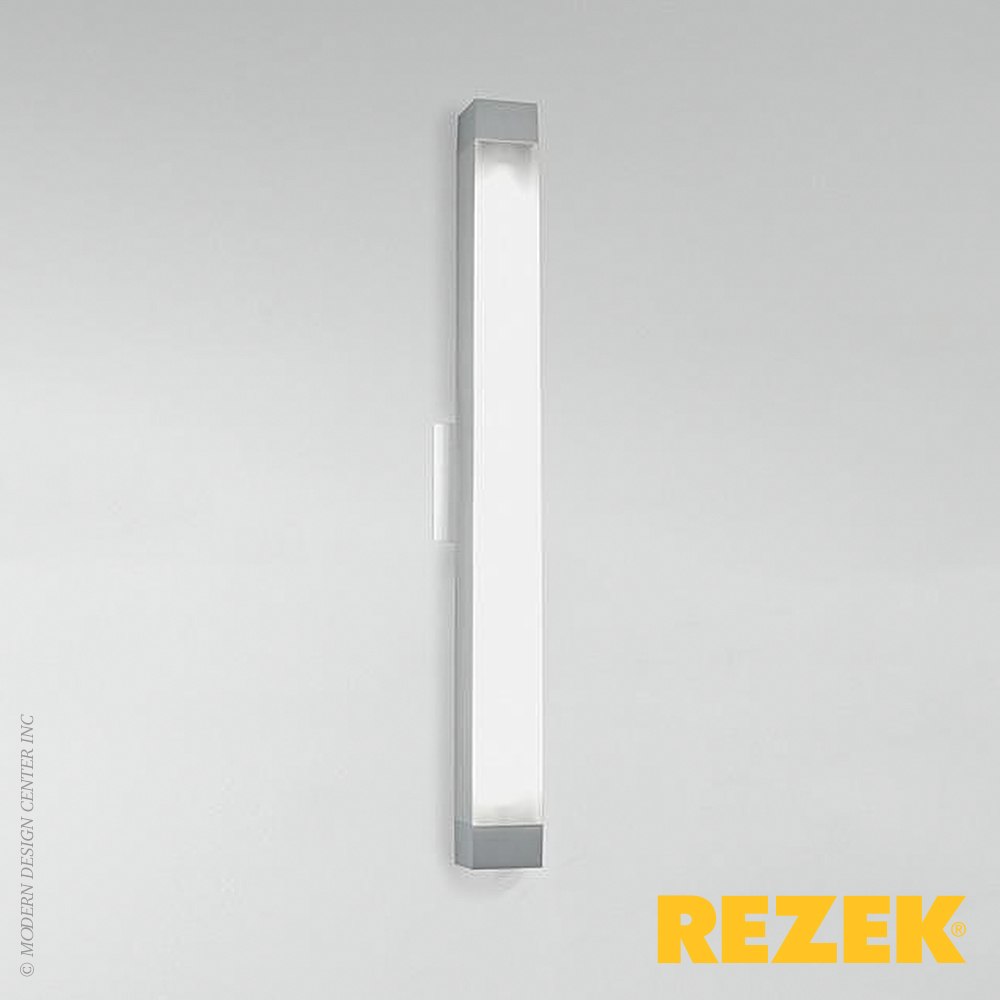 All Square Wall Lights : 2.5 Square Strip 26 LED Wall Light Rezek MetropolitanDecor