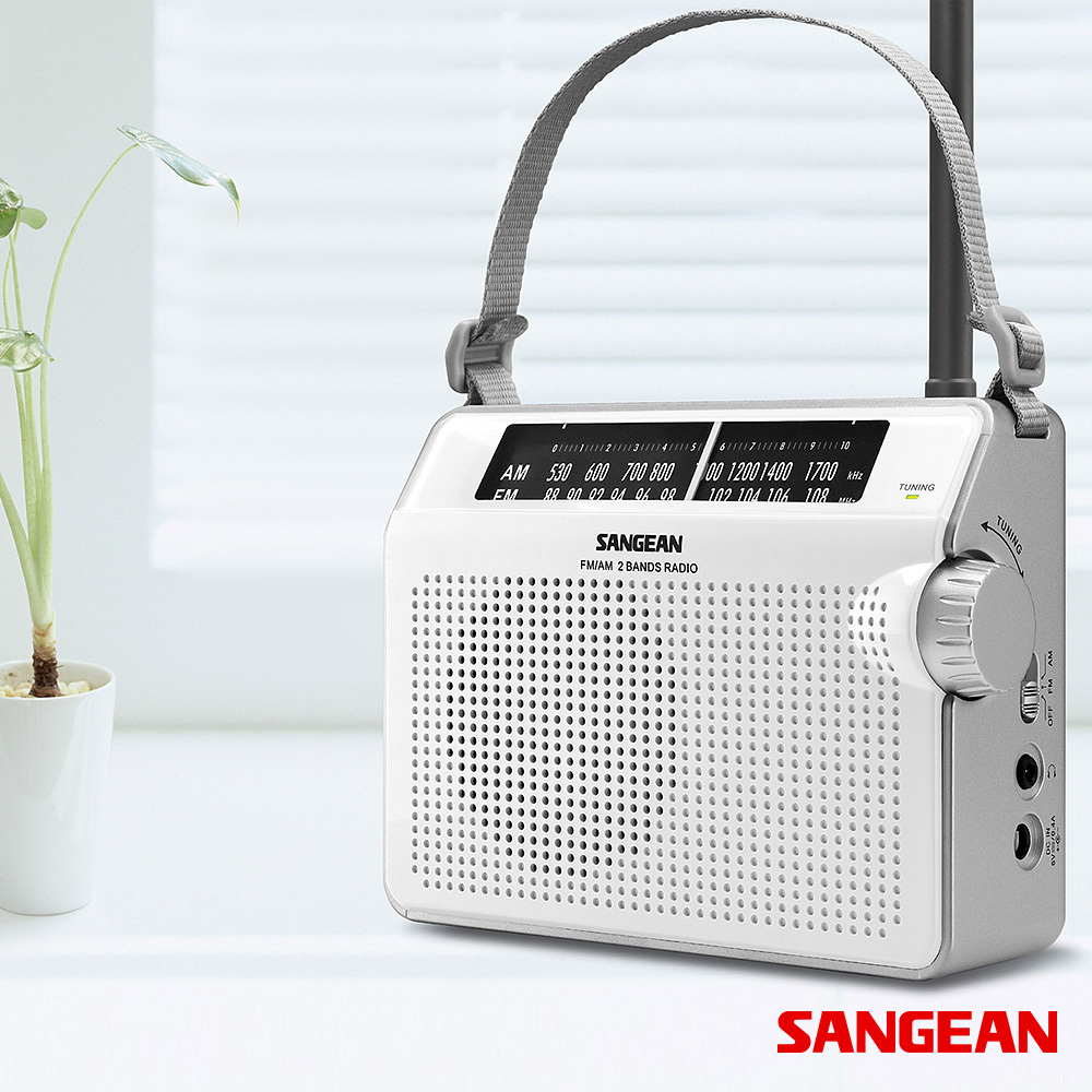 FM AM Compact Analogue Tuning Portable Receiver | Sangean