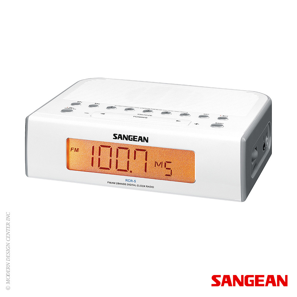 fm am digital tuning clock radio sangean metropolitandecor. Black Bedroom Furniture Sets. Home Design Ideas